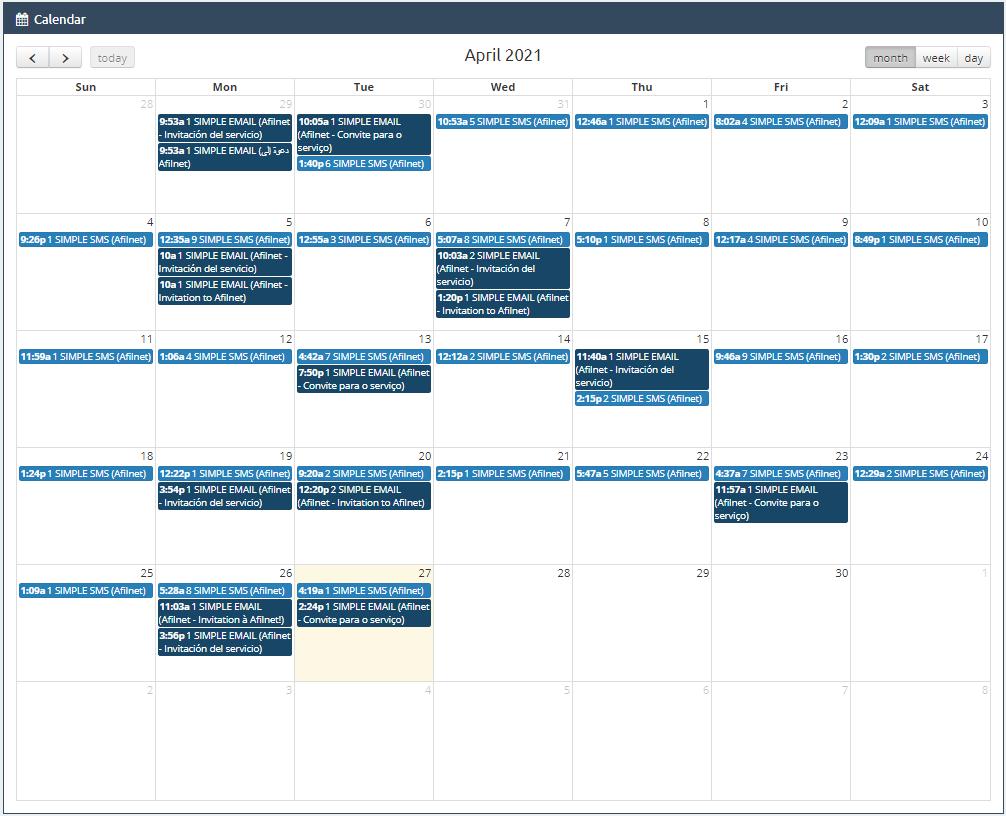 Väljaannete kalender