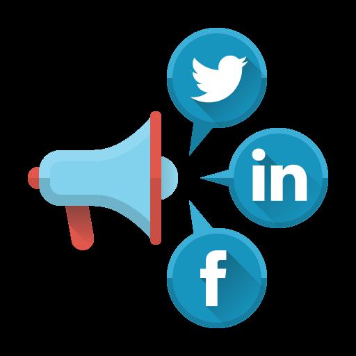 Redes sociais compatíveis